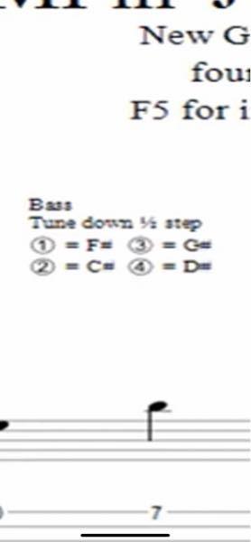 ベースのチューニングなんですが、これは1弦からF C G Dとチューニングすればよいのでしょうか?