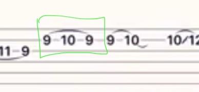 エレキギターなのですがこの記号の名前とどのように弾けば良いのか教えて下さいm(_ _)m
