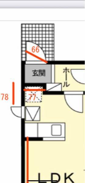 冷蔵庫が玄関から搬入出来るか教えてください。 玄関サイズが不動産屋さんから66ときました。 冷蔵庫は 外形寸法(幅×高さ×奥行)mm (ハンドル・脚カバーを除く)約600×1690×665mm 据付必要寸法(幅×高さ×奥行)mm 約610×1740×665mm このサイズは搬入不可ですか?