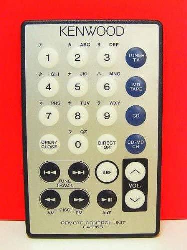 90年代のカーステレオのリモコンについて質問です。 先日、ケンウッドのZ707というカーステレオを買ったのですが、リモコンが付いていませんでした。このカーステレオのリモコンの型番が判りません。これじゃないかなっていうのがあるのですが、それでいいのかもわかりません。 ケンウッドのZ707という製品に対応したリモコンの型番が判る方がいましたら教えてください。 ちなみに、自分がこれじゃないかなって思っているのは ケンウッド オーディオリモコン CA-R6B 写真も添付しておきます。 宜しくお願いします。