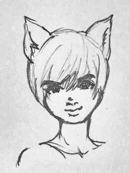 イラストのアドバイス求む! 黒人的特徴をもったネコ耳の女の子を描きたいのですが、目がうまく描けません。 (獣人設定なので耳は猫耳) 年齢は10代後半をイメージしてます 目がどうしても日本人ぽくなるのですが アドバイスいただけると嬉しいです。 黒人の子を描くのが上手な おすすめの絵師さんなどもいたら教えてもらえたら嬉しいです!よろしくお願いします。