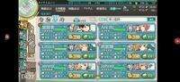 すみません艦これの夏イベ(2021)なんですけどe3-1がどうしてもクリアできません。下の画像の7番艦に瑞鳳改二乙がいます。 それに最終支援には戦艦3隻空母1隻駆逐艦2隻ので出しているのですが削ってくれません。もちろん電球も付けています。(対水は足りなくて少し対空)を積んでいます。基地航空隊も出していますが 手前側のザコ艦と重巡だけは倒してくれます。 けどナ級が空母しか狙わず装甲空母は持って...