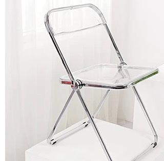 こんな感じの折りたたみの透明な椅子に合う 透明の折り畳みデスク 探してます。何かいいサイトがありましたら教えていただきたいです!