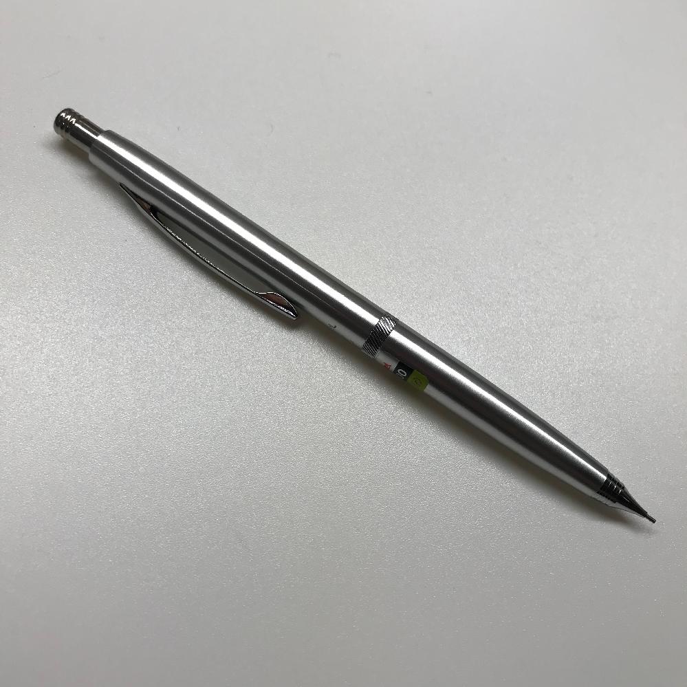 このシャーペンの名前を教えてください。ぺんてる