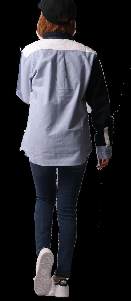 シャツの丈、あってますか?長いですか?
