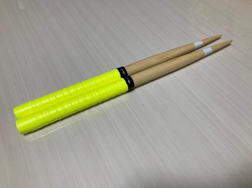 太鼓の達人のマイバチ作りました!今回のバチで2本目です!万能バチで作ったつもりです。評価お願いします!! 米ヒバ テーパー域13cm 太さ20mm 長さ39cm