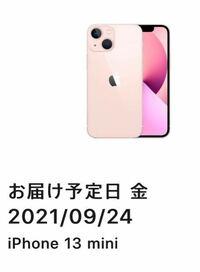 iPhone13購入のために9時前からApple Storeに張り付いていたのですが、 注文完了して、購入方法も選択して最終の完了ボタン押してこの画面になったのですが、 1番最短の9月24日(発売日)に届くということですか!?