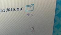 gmailのマークについて教えてください。 ある差出人からのメールに、画像右下のようなマークが出ており本文が表示されません。 これは何を意味するマークで、どうすれば本文が表示されるようになるでしょうか。