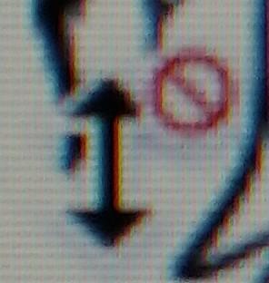 クリスタの質問です。 描いてる最中にこのような矢印が出て描けなくなってしまいとてもストレスです。 解決方法をご存知の方教えて下さると幸いです。