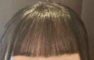 この前髪って重いですか?またこの前髪はどうですかね?