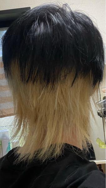 昨日美容院でカット、カラーをしてもらったのですが この黒髪と金髪の境目の高さって高過ぎますかね? あまりおかしいようであればお直ししてもらおうかなと思いまして…