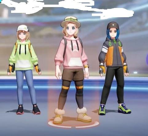 「左」「真ん中」「右」で答えてください。回答頂けますか? ①どの帽子がセンス良いと思いますか? ②どの顔が好きですか? ③どの服装が好きですか?