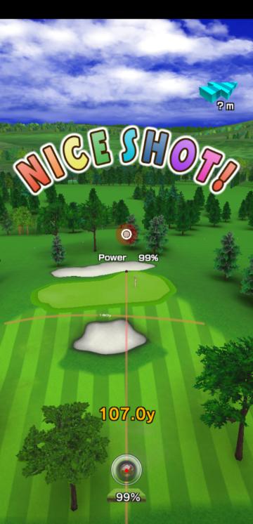 みんゴルでバーディとるのは簡単なのに、リアルのゴルフでは年に1回くらいです。なぜですか?