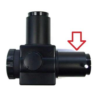 フリップミラーの添付写真の矢印の筒(内側ねじがφ41.2~41.3mm程度、外側φが44mmくらい)の筒状のアダプタを探しています。なぜか片側を無くしてしまいました。この部分だけ売ってないでしょうか。 フリップミラーはVixenもAstrostreetも同じ筒を使用しているようです。