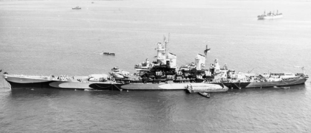 アイオワ級のように、艦尾が僅かに迫り上がっている艦を他に知りませんか? 先週、同じ質問をしましたら、アイオワ級の艦尾は迫り上がってなんかいないと言われました。