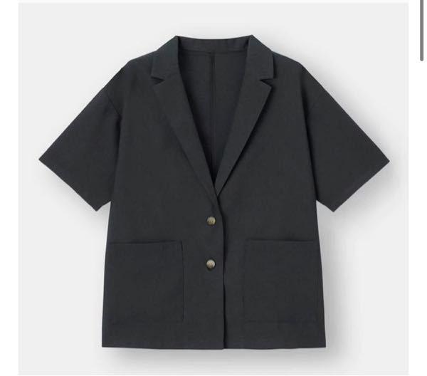 黒のプリーツスカートにこの上着は可愛いですか?