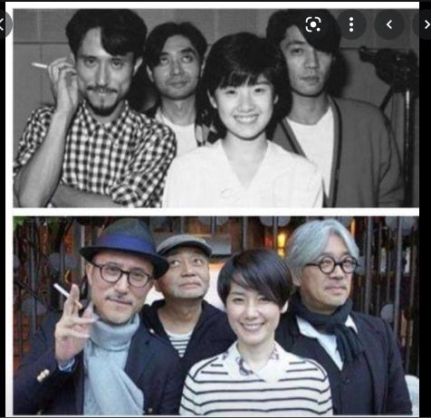 以下の写真の坂本龍一さん以外の3人の名前を教えてください。