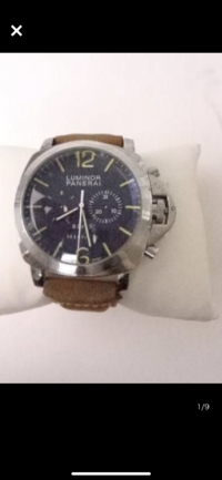 パネライ ルミノールの時計ですが、この画像のモデル名分かる方いらっしゃいますか?8daysでクロノグラフも付いています。