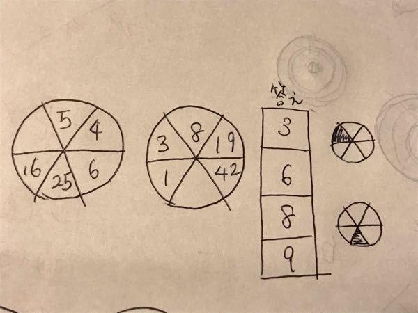 謎解きです。 何故答えが3689になるのか、教えてください。