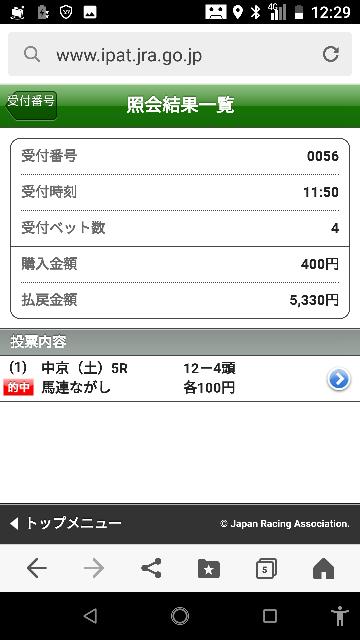 中京メイン 16―3.4.6.7.14.15 なにかいますか? 大穴当たりました!