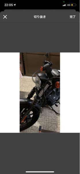 知り合いのバイクです。このバイクハーレーダビッドソンなんですけどこの写真だけでなんの種類か分かりますか?教えてくれたら幸いです