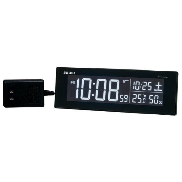このような常時発光型置き時計(AC接続)の消費電力はどのくらいですか?
