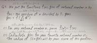 大学数学の問題です。 留数定理?を使うのかなと思うのですがそもそも留数定理を学習していない(はず)なので手の付け方が分かりません。 英語は翻訳しているので見にくいかもしれませんがどのように関数f(n)をおけばいいのか、教えて頂きたいです。