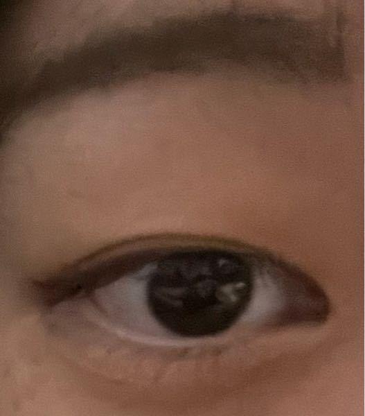 目が小さいです(写真有)お見苦しくてすみません。 この瞼と蒙古襞ではもう少し広い二重とか無理でしょうか、??試してみたらこれ以上広げるとただの線になります、、、アドバイス欲しいです。
