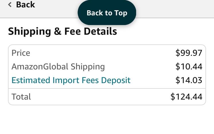 アメリカのAmazonでイヤホンを購入する際、商品価格+送料にImport Fees Depositが加算されていました。 Import Fees Depositって言うのは簡単に言うと関税にか...
