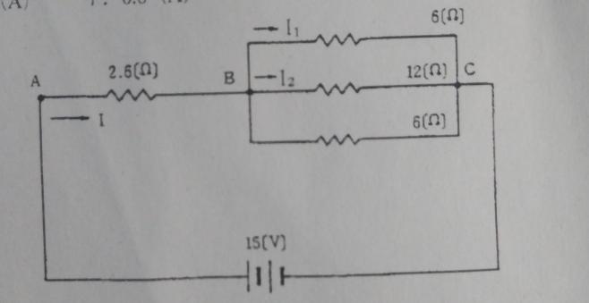 I2に流れる電流値、計算方法含め教えてください。