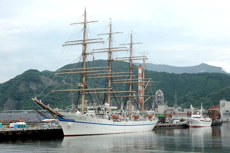 この帆船の名前を教えて下さい。