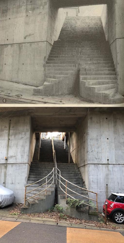 階段がこんな割れてるのってなんでだと思いますか? 下はその後です 松戸