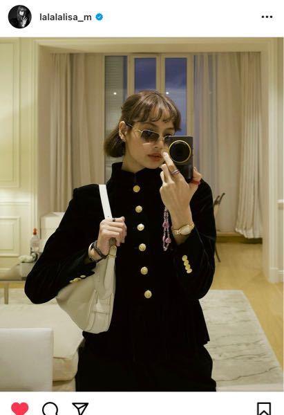 BLACKPINKのリサさんが着用してる 上の服ですが、どこのブランドのものでしょうか