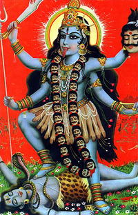 インドの女性の神様はどうしてあんなに怖そうなんですか