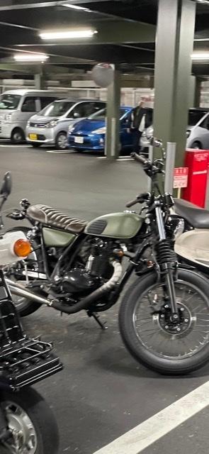 これ何ていうバイクですか?