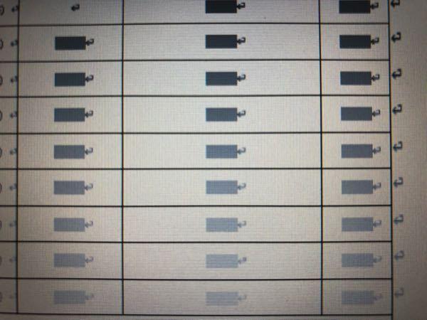 Wordについて質問です。 下記のグレー部分が邪魔で全て消したいのですが、1個ずつ処理しなければならないでしょうか?また印刷時に透明になれば消さずに済むのですがどうすればいいでしょうか?ダブルクリックするとテキストボックスフォームフィールドと出てきます。