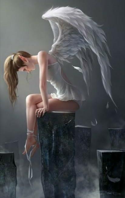 【大喜利】まいくNHです。 . 天界の天使さんが、 何か、落ち込んでます・・・。 どうしたんでしょうか?(・_・) [例] スマホ、落としちゃった。 って私、今までずっと、どうやって「持...