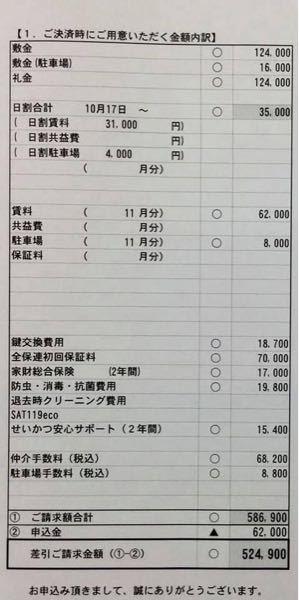 家賃62000円 駐車場代8000円 初期費用 586000円 ペット可 高いですよね。 相場を教えて下さい。 宜しくお願い致します。