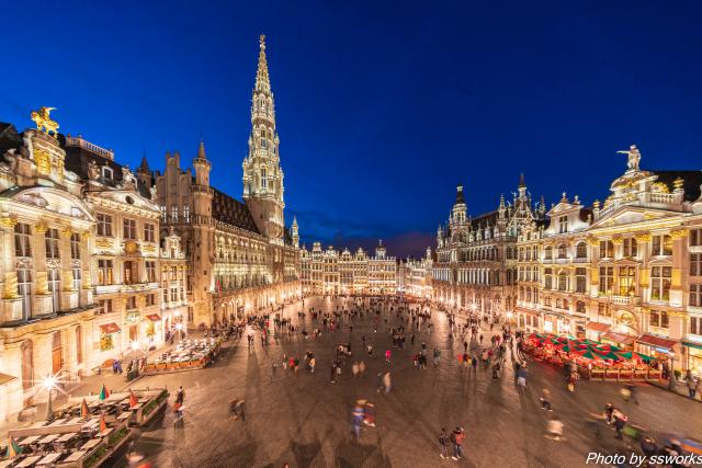 おはようございます 世界一美しいと思う都市は?? ブリュッセル!!
