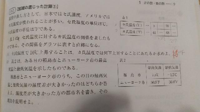 (1)(2)教えてください!