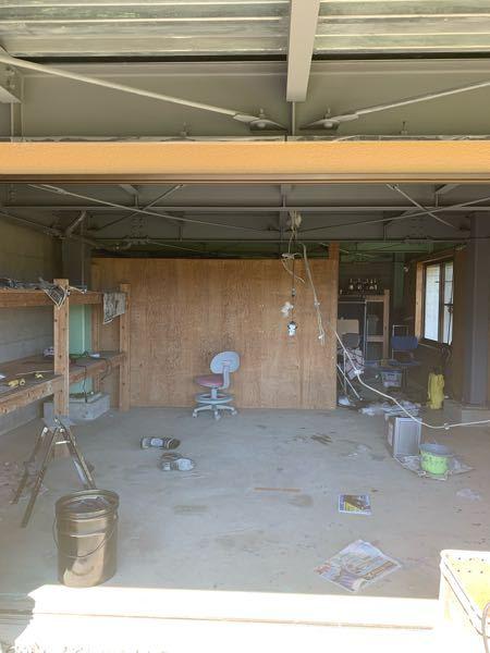 このガレージの床を塗装したいのですが 自分でできそうでしょうか? あとどのような塗料使えばできそうですか?