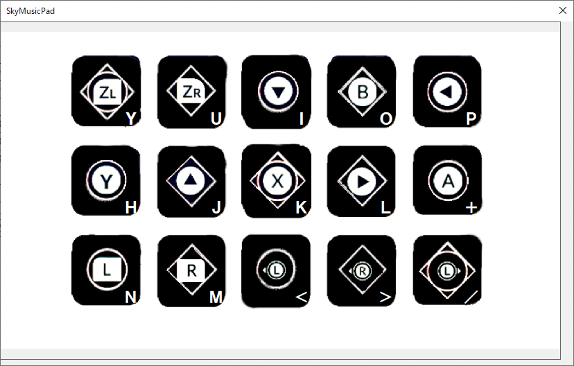 SwitchのJoy-CON LとRを1つのコントローラーとしてPCで使うにはどうすればよいですか? Bluetoothでの接続はできていて、Joy-con(L)が単独で横持ちした状態で認識・入力されています。 エクセル vbaでプログラムを組んであり、Pro controlerではすべてのボタン・スティックの入力ができています。 POV 十字キーの感触がよくないので、Joy-con(L)のボタンを使いたいです。 使用目的は Sky星を紡ぐ子どもたちの楽器演奏とその練習です。 PCのMIDI音源を鳴らすシミュレーター作りました。