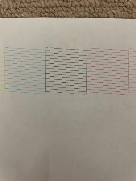 エプソンプリンターep-804aなのですが、何回ヘッドクリーニングしても黒の線がかすれてしまいます。何故でしょうか?