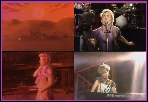 """☆ 洋楽Q'sシリーズ・(Austrarian音楽・画像Q)Vol.1☆ ////////// ・出題はオーストラリアのシンガー、アーティスト、ミュージシャン、バンド、グループのMusic Video・Live画像からの出題となります。 ・回答返信は1回までとします。再回答されても正解対象になりません。 (再編集回答も同様) ・アーティストの名前、曲名ではアルファベット記述で回答して下さい。 (回答の仕方は""""Answer)""""部に記載します) ////////// <<< No.089 >>> Q:画像(MV)のバンド名、曲名は何でしょうか? Answer) バンド名:? 曲名:? (このNo.089出題に正解回答が出た時点で出題No-085の正解回答が出なかった場合、No-085出題は削除致します。)"""