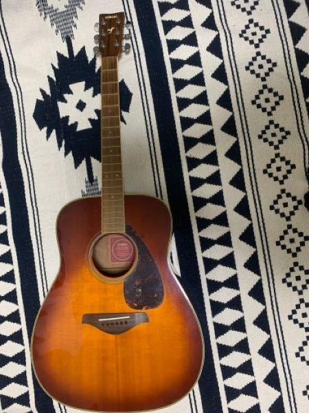 ギター有識者の方に質問です。 このギターのメーカー?わかる方いますか? 昔祖父から譲り受けたものなんですが、ギターの知識全くないので。