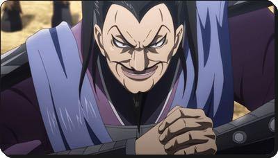 アニメのキングダム 介億って顔的に敵側で絶対最後裏切りますよね。