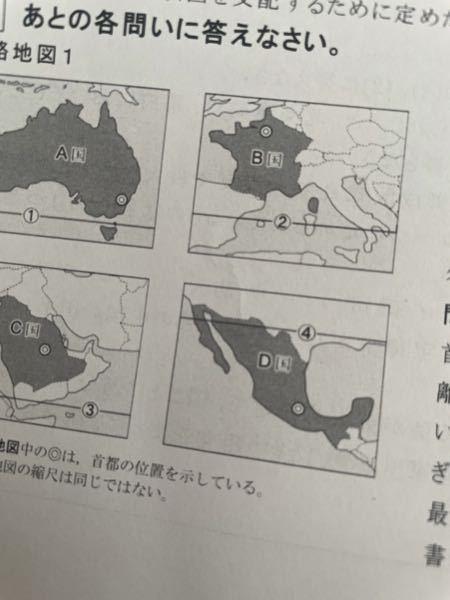 このD国ってどこの国か分かりますか?? 国がわからなくても大陸が分かればそれで結構です!