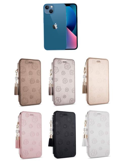 上の色のiPhone13に合わせるなら、何色のスマホケースが合うと思いますか?