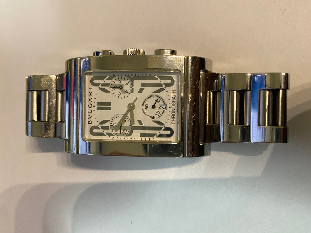 ブルガリの腕時計 これ本物でしょうか?