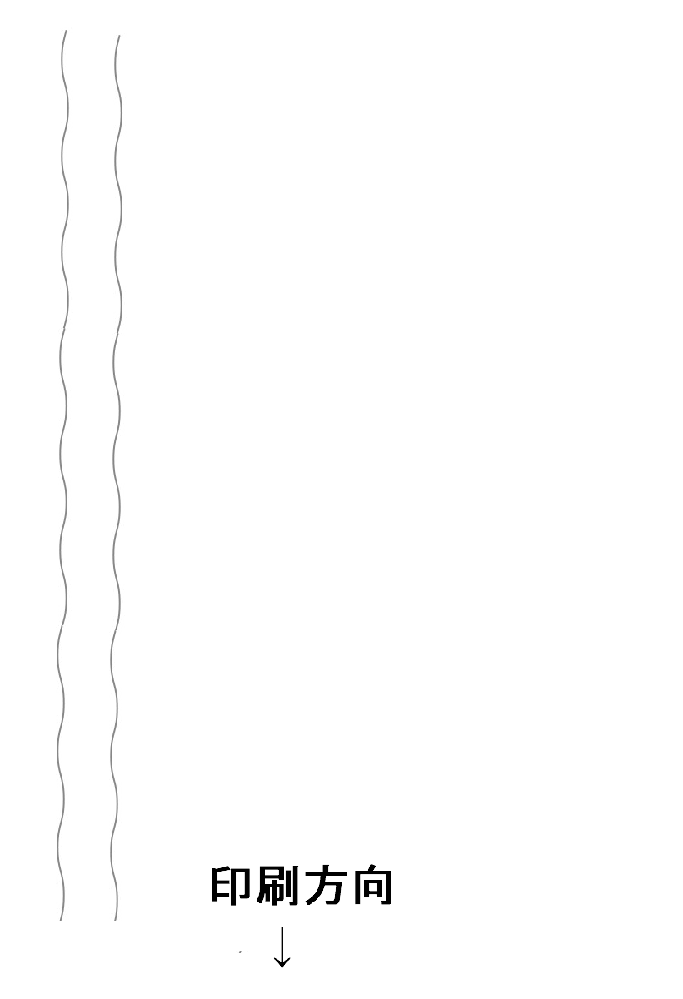 プリンターで印刷すると縦線がすごく波打ちます。 キャノンのMG3630ですが、 ヘッド一体型のインクで、インクが無くなるとカートリッジを変えずに、 詰め替えインクを補充して使用しています。 2~3度詰め替えると、縦線がかなり波打つようになります。 画像のようになります。 横線はまっすぐ印刷されます。 ヘッド調整しても追いつきません。 カートリッジを新品に変えると、まっすぐ印刷されます。 原因は何でしょうか。 また、これを治す方法はないでしょうか。 プリンタに詳しい方、よろしくお願いいたします。